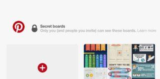 Hur man skapar ett privat möte i Pinterest för Android
