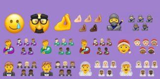 Möt de 117 nya emojierna som kommer att komma senare i år