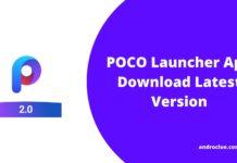 POCO Launcher Apk 2.0 - Ladda ner POCO Launcher för Android