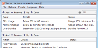 Shutter är en gratis schemaläggningsprogramvara för Windows 10