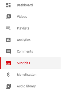Lägg till text till YouTube Videor efter överföring