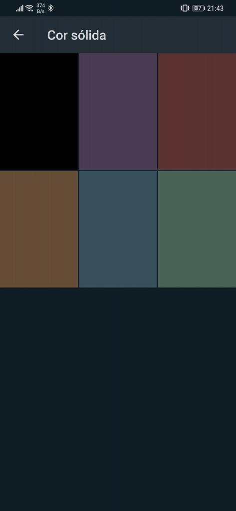 WhatsApp Android kommer att ha 5 olika färger i mörkt läge 3