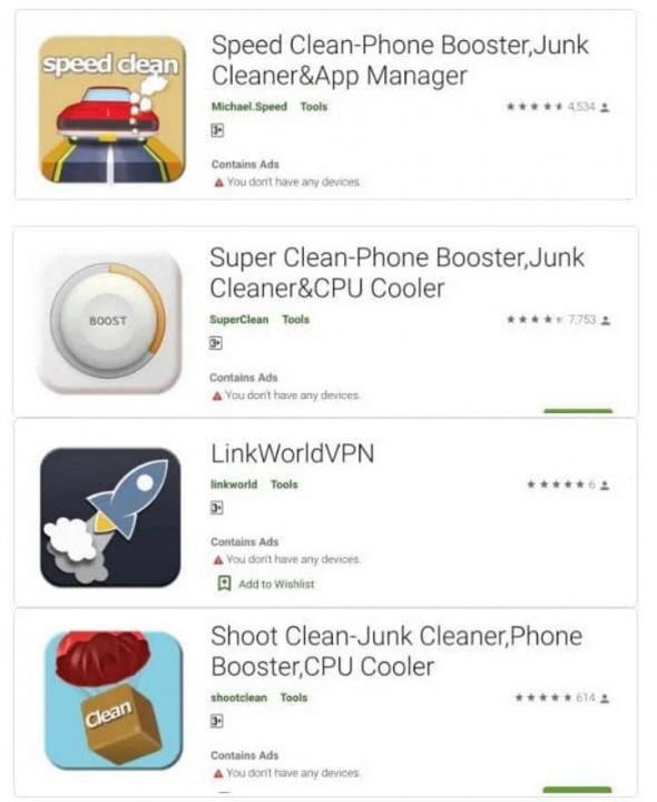 Säkerhet för malware-konton för Android-appar