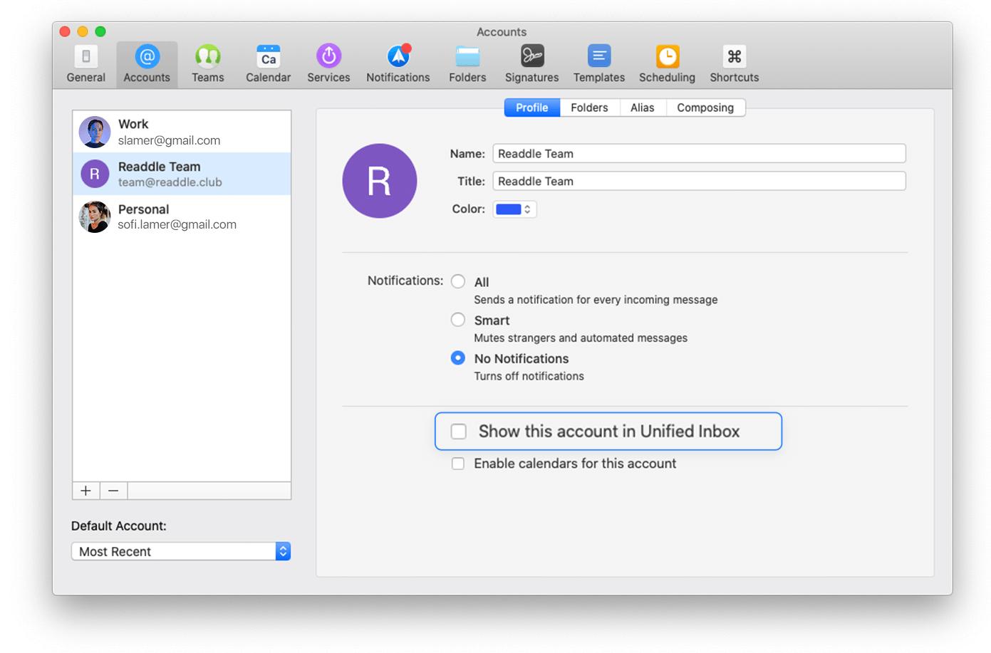 Spark e-postklient får en ny Send Again-funktion, en översynen Ångra-bar och andra förmåner 3