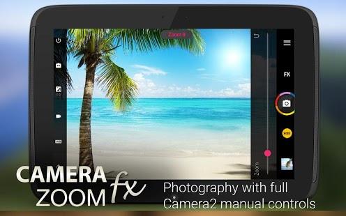 Camera ZOOM FX Premium skärmbild