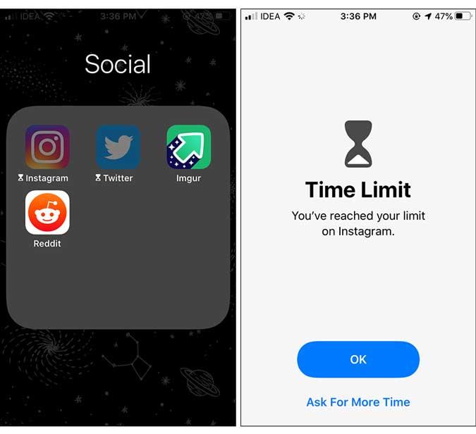 appar låst - lås app på iphone