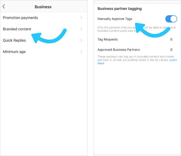 Hur man använder Instagram Verktyg för märkesinnehåll för ditt företag 3