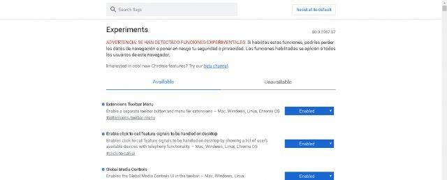 Så du kan aktivera Chrome-alternativet som blockerar tunga annonser 1
