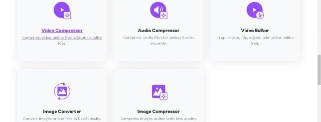 Konvertera och komprimera multimediafiler på samma webbplats med Online Uniconverter 2