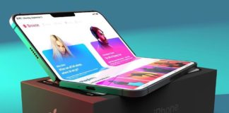 Foldable Iphone Concept Design 2019