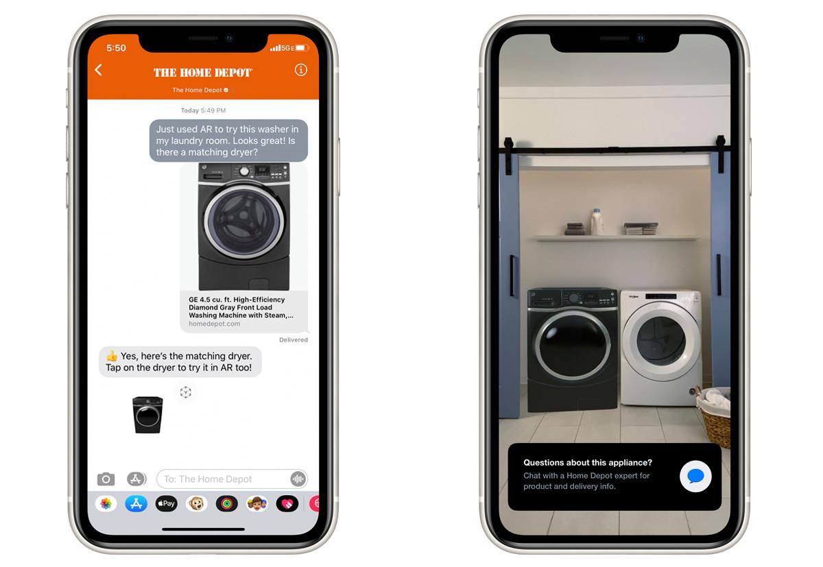 """AppleMed funktionen """"Snabb titt"""" kan butiker nu sälja objekt med augmented reality 1"""
