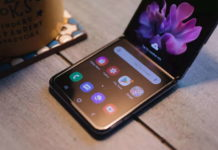 Z Flip Galaxy Samsung ecrã vidro