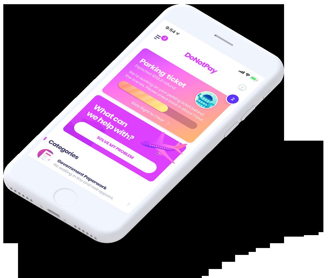 DoNotPays nya app kan automatiskt stämma in anropare 1