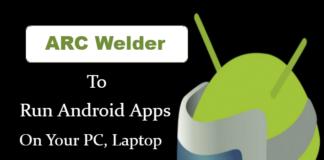ARC Welder Nedladdning för PC, Laptop