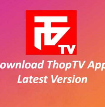 ThopTV APK Ladda ner (2020) Live TV-app för Android / FireStick
