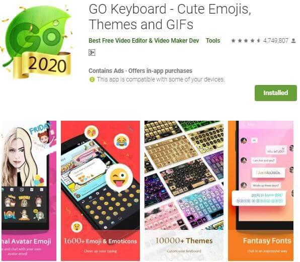 Bästa appar som gör tangentbordet större på Android 2