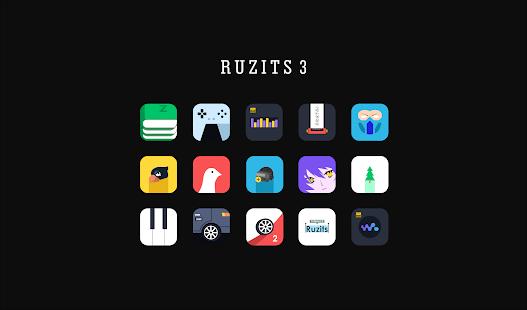 Ruzits 3 Biểu tượng Gói Ảnh chụp màn hình