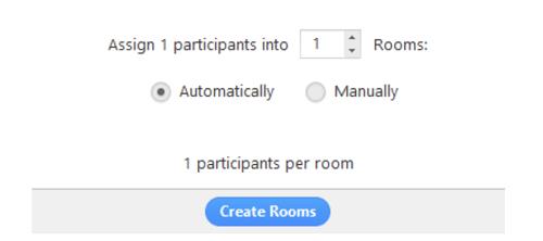 Thu phóng Cách sử dụng Breakout Room tạo phòng