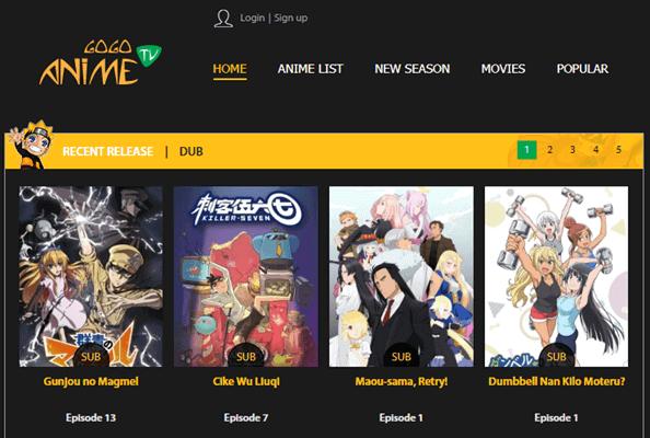 Gogo Anime Anilinkz-Alternatives