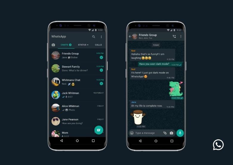 Tính năng WhatsApp Dark Mode triển khai cho Android và iOS 1