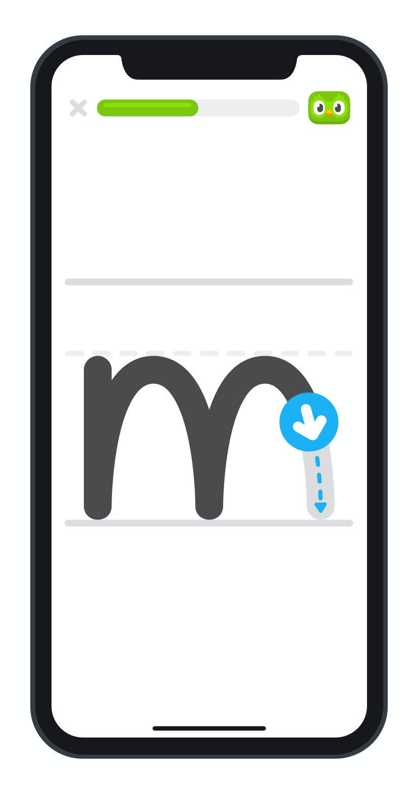 Duolingo ABC là một ứng dụng iOS miễn phí giúp trẻ học đọc 2