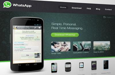 WhatsApp en kontakt eller en person till grupp