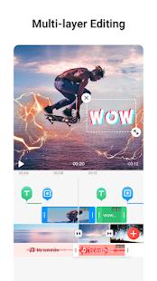 VMix - Video Effects Editor med övergångsskärmbild