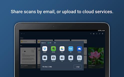 Tiny Scanner Pro: Skärmdump för PDF Doc Scan