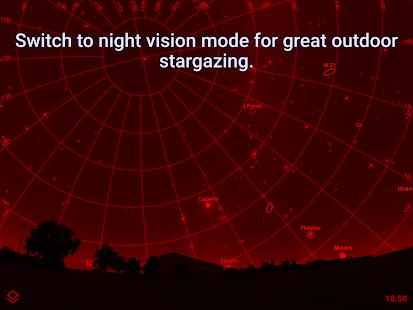 Stellarium Mobile PLUS - Màn hình bản đồ sao