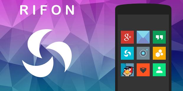 Rifon - Icon Pack Skärmdump