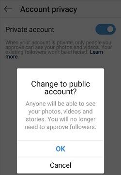 Instagram  publicera en berättelse om din berättelse