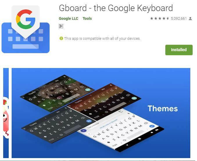 Bästa appar som gör tangentbordet större på Android 1