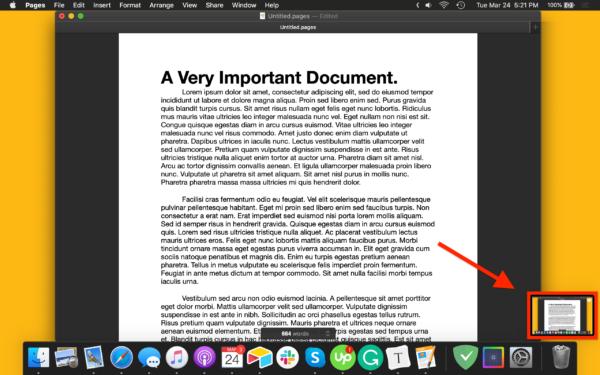 Cách chụp ảnh màn hình trên macOS 1