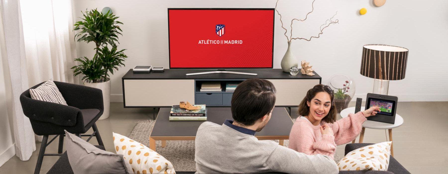 Cách xem nội dung độc quyền từ Atlético de Madrid trên Movistar + 3