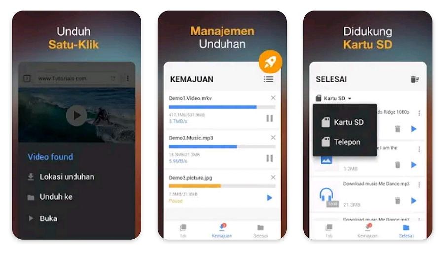 Hơn 10 ứng dụng tải xuống video được khuyên dùng nhất cho điện thoại Android 1