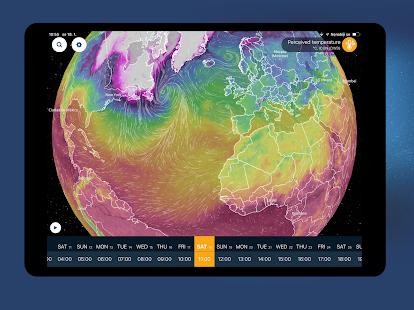 Ventusky: Snímka máp 3D máp