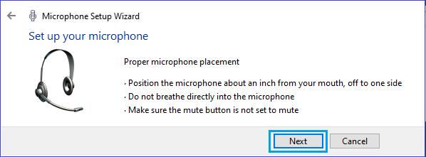 Đặt màn hình micrô của bạn vào Windows