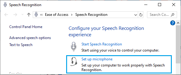Cài đặt tùy chọn micrô i Windows