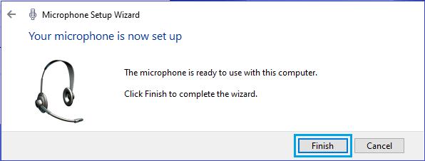Thoát cài đặt micrô trong Windows