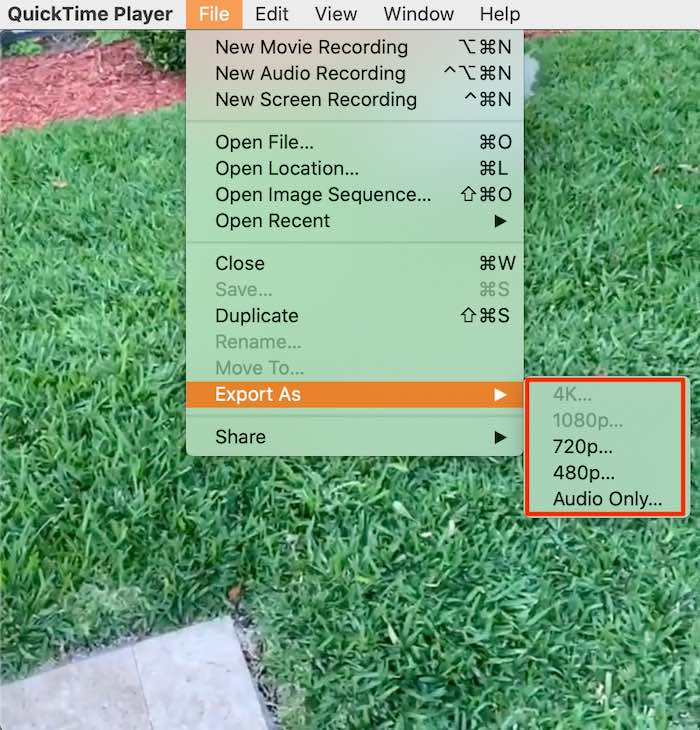 Filmredigering Quicktime Mac Shrink Video