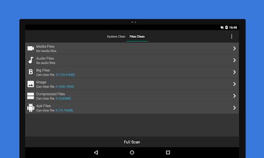 Assistant Pro cho Android - Ảnh chụp màn hình của Cleaner & Booster