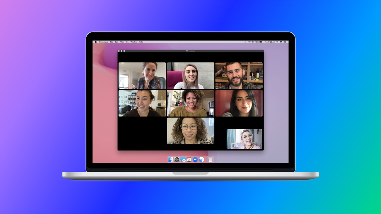 Facebook Ra mắt máy tính để bàn Messengerứng dụng trò chuyện video nhóm 3