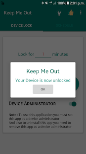 Snímka obrazovky Keep Me Out