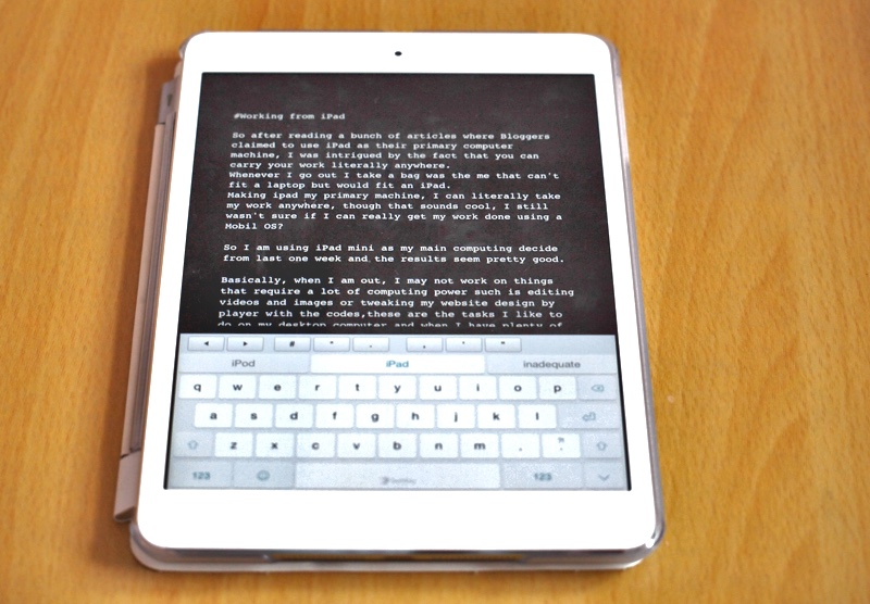 Používanie iPad Mini ako primárneho počítača a jeho účinnosť 4