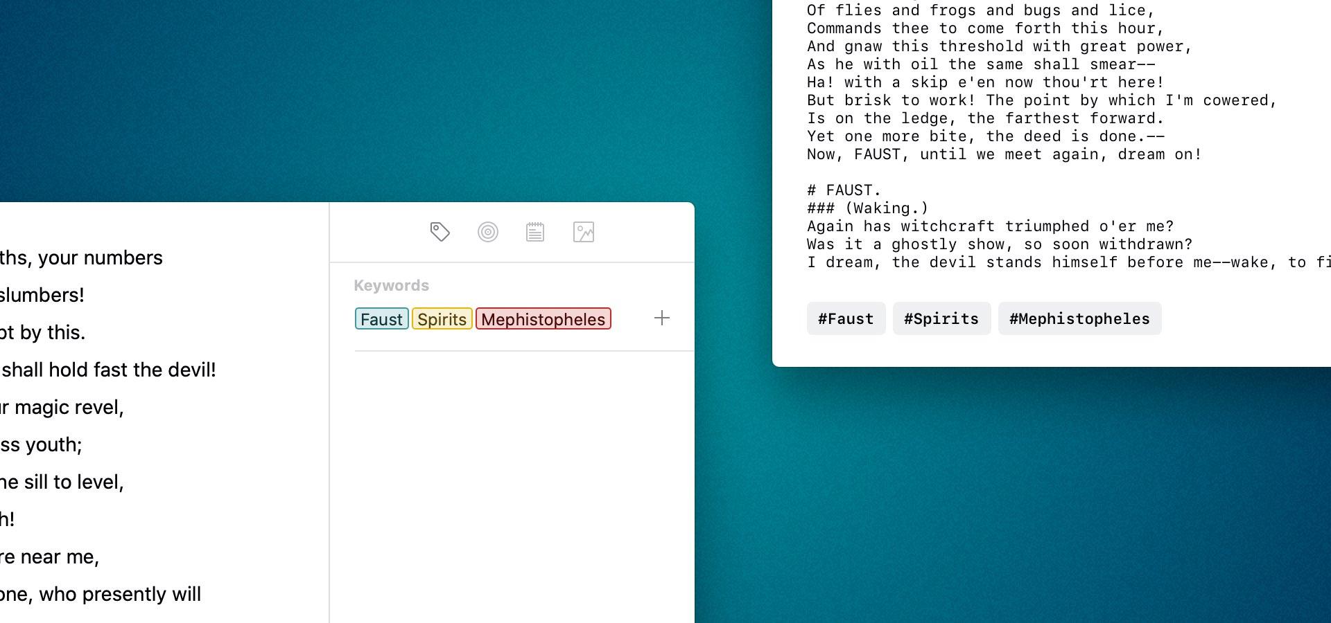 Viết ứng dụng Ulysses được cập nhật với hỗ trợ iPad TouchPad, từ khóa, tài liệu và hơn thế nữa 2