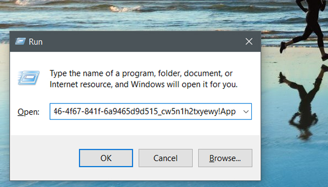 chạy một lệnh trên windows