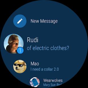 Ảnh chụp màn hình Telegram