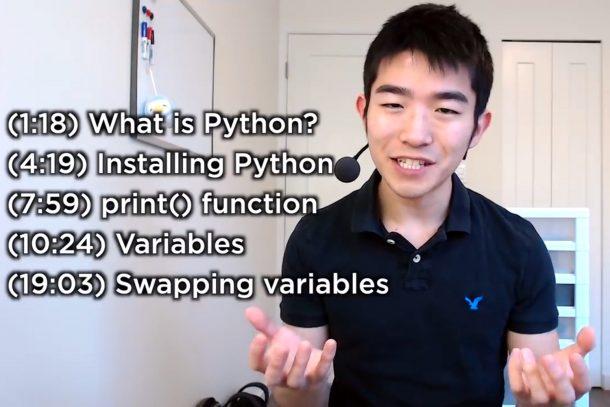 kênh YouTube để học Python tại nhà 5