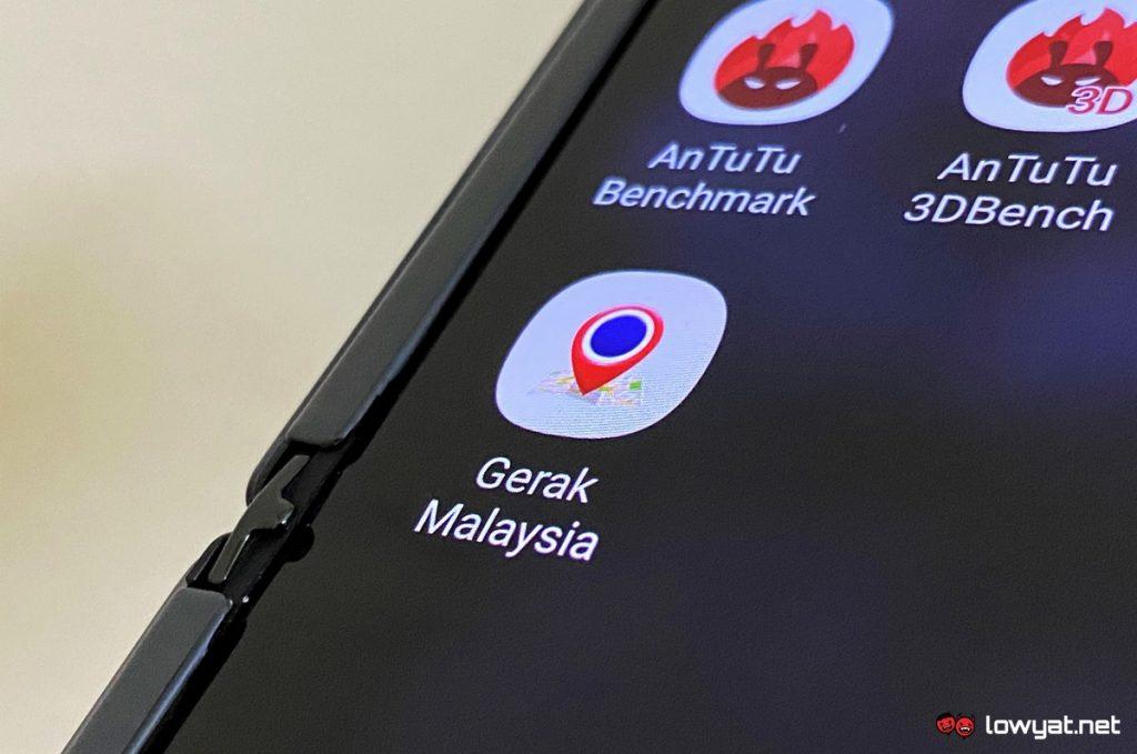 Gerak Malaysia: Một ứng dụng COVID-19 khác từ chính phủ Malaysia 5