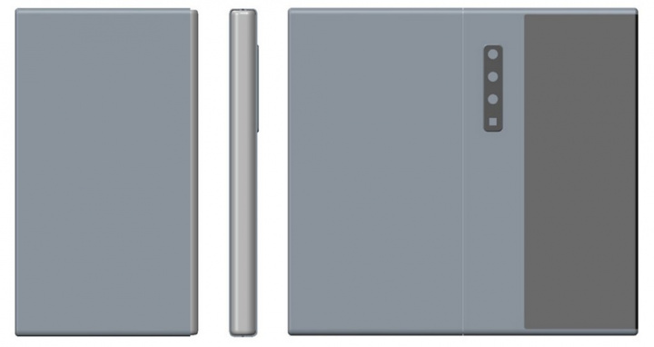 Patentovaný skladací smartphone Huawei s fotoaparátom so zoomom 1